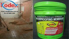 #Kodex Waterproofing products for Bathrooms http://www.kodex.com.au/wp-content/uploads/2015/02/Kodex-WAM-rapid.pdf