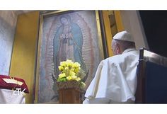 Pope Francis crowns the Most Holy Virgin of Guadalupe