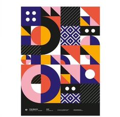 Likes, 39 Comments - PosterLad Geometric Graphic Design, Geometric Pattern Design, Geometric Poster, Graphic Design Trends, Graphic Design Posters, Geometric Designs, Graphic Design Illustration, Graphic Design Inspiration, Geometric Shapes