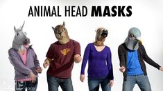 Creepy Animal Head Masks...I just can't decide which one I want