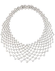 18 Karat White Gold and Diamond 'Constellation' Necklace, Nirav Modi - Sotheby's