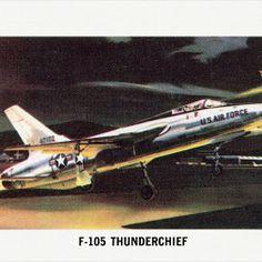 F-105 Thunderchief  -  Jeff Sexton - Google+