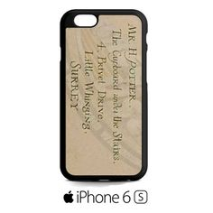 Harry Potter Address iPhone 6S  Case