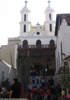 The Hanging Church (El Muallaqa) in Cairo