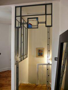 des id es en verre vitraux art d co dans une verri re vitraux pinterest verri re vitraux. Black Bedroom Furniture Sets. Home Design Ideas