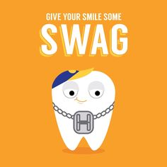 Tooth Swag - Brackets, bands, and wires—not just straightening your teeth but giving them some style!