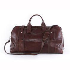Beautifully handmade weekend bag.