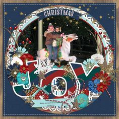 Layout created with Merry Little Christmas Elements from River~Rose Designs