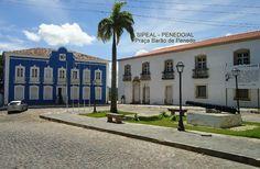 Penedo, Alagoas - Brasil - praça Barão de Penedo