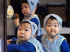 Triplets-The Return of Superman Jadi Model Pakaian Anak « Asiangrup Superman Baby, Ki Tae Young, Triplet Babies, Song Daehan, Song Triplets, My Bebe, Asian Kids, Drawing For Kids, Children Drawing