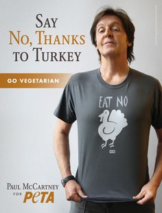 Paul McCartney Is Cooking These Delicious Recipes This Thanksgiving | PETA.org