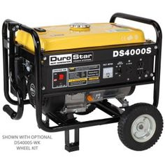 Electric Generator Depot DuroMax 4000 Watt Hp air cooled OHV gas engine portable RV generator - Power Generators - Ideas of Power Generators Best Portable Generator, Gas Powered Generator, Camping Generator, Inverter Generator, Power Generator, Generators, Energy Providers, Rv Camping, Glamping
