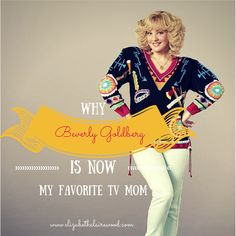 Lessons on motherhood. Taught by Beverly Goldberg. MOM YOU HAD THAT SWEATER! #haha @kfheard