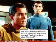 Poor redshirts
