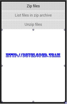 Zip for Android 1.2 Full Source