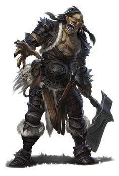 half orc barbarian - Google zoeken