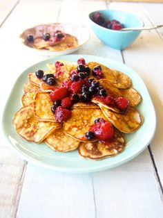 Who remembers pikelets? We'll still be drenching them in butter because that's the only way to eat paleo pikelets. Diet Soup Recipes, Paleo Recipes, Low Carb Recipes, Real Food Recipes, Yummy Food, Baby Recipes, Ketogenic Recipes, Healthy Breakfast Recipes, Healthy Snacks