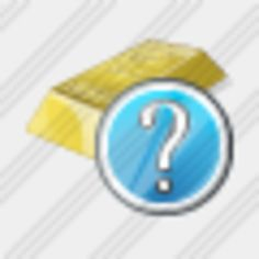Icon Gold Question