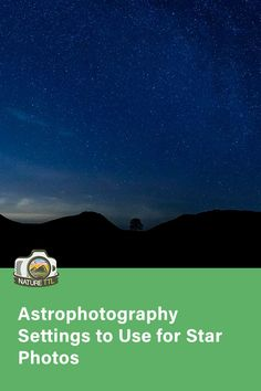 Learn what astrophotography settings you need to use for your camera to get amazing photos of the stars and night sky.