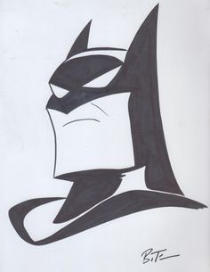 Batman - Bruce Timm, in Josh Wireman's BRUCE TIMM Comic Art Gallery Room - 1077466