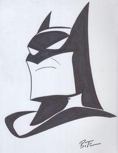 Batman - Bruce Timm, in Josh Wireman's BRUCE TIMM Comic Art Gallery Room - 1077466