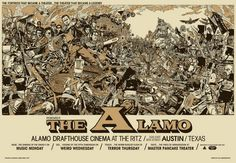 The Alamo Drafthouse Movie Poster, by Tyler Stout.