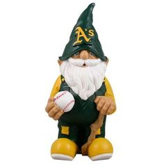 Oakland Athletics MLB Garden Gnome bought for me by the biggest a giants lover I know.