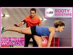 Big Butt Workout Befit Booty Boosters With Brett Hoebel Is A Supercharged 15 Minute