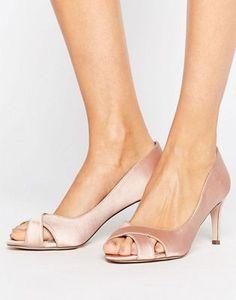 Туфли на среднем каблуке ASOS SAGE