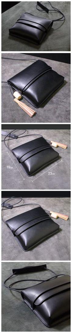 Handmade leather shoulder bag messenger bag small satchel 14069 Overview: Design: Vintage Leather Women Messenger Shoulder Bag Satchel In Stock: 4-5 days For Making Include: Only Shoulder Bag Custom: