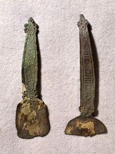 Viking age / Horn spoons / Eura Finnish Viking People, Norse People, Ancient Vikings, Norse Vikings, Medieval Life, Medieval Art, Viking Jewelry, Ancient Jewelry, Vikings Time