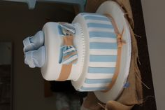 Baby Shower Cake - baby boy