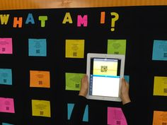 iTeach 1:1: Student-Created Interactive QR Code Bulletin Boards