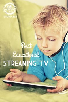 The best educational streaming TV for kids! Lots of great things to watch on Netflix, Hulu and more.