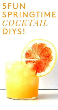 5 fun cocktails to try this spring!