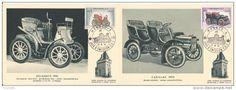 Monaco, C.M N° 557 à 570 rétrospective automobile 13.06.1961, lot de 14 cartes