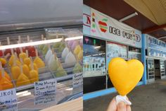 Ice Fru's Fruit and Ice Cream Pops - Biting Commentary - August 2014 - Honolulu, HI