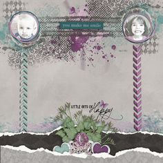 Sassy And Classy Bundle Word Art World Purple Rain-Elements Lindsay Jane Better Days Ahead-Bundle Aprilisa Designs These are the Moments-Elements Bekah E Designs Dream A Little Dream_Elements Seatrout Scraps