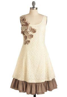 Vanilla Biscotti Dress, #ModCloth