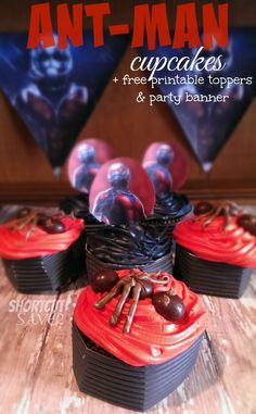 Ant Man Cake Design : 1000+ images about Fun Movie-Inspired Recipes on Pinterest ...