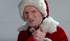 Liam Neeson Is The Sinister Santa Claus Of Your Nightmares | The Huffington Post