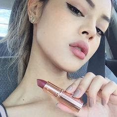 "@lilymaymac on Instagram: ""New fav lipstick by @ctilburymakeup in colour Bond Girl✨ thank you @tailormaidpr """