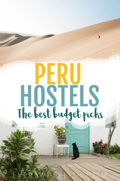 Peru Hostels: A Budget Travel Guide to the Best Hostels in Peru Backpacking Peru, Backpacking South America, South America Travel, Colombia Travel, Brazil Travel, Peru Travel, Travel Advice, Travel Guides, Travel Articles