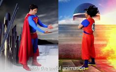 Goku and Superman Settle Their Differences in a Heated Rap Battle