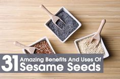 Sesame seeds are the oldest condiments & oil seed crops. Available in many variants & can be eaten in all forms. Listed are their amazing benefits & nutritional facts.