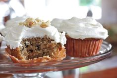 Recipe for Carrot Cake Amish Friendship Bread with Cream Cheese Frosting.