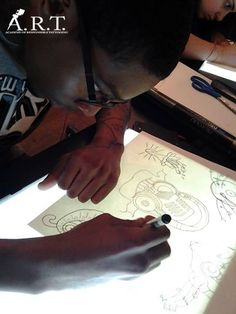 Here's the hard truth all aspiring tattoo artists must know: You absolutely WILL NOT learn how to tattoo by watching Youtube videos. Tattooing is an art form, and no amount of self-help videos can teach you how to do that properly. If you're ready to get serious about becoming a professional artist, inbox us your contact details!