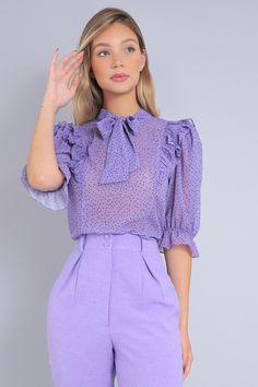Work Fashion, Cute Fashion, Fashion Looks, Fashion Outfits, Purple Outfits, Pretty Outfits, Casual Chic, Comfortable Outfits, Casual Outfits