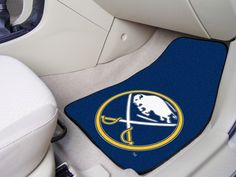 NHL Buffalo Sabres Car Mats 2 Piece Front by FanMats. Buy now @ReadyGolf.com