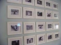 espaço entre quadros parede - Pesquisa Google
